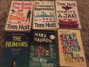 Assorted fiction books $4.00 each