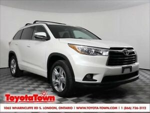 2015 Toyota Highlander 7 PASS LIMITED LEATHER NAVIGATION NEW TIR