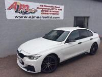 2013 62 BMW 3 SERIES 2.0 318D M SPORT 4D 141 BHP DIESEL