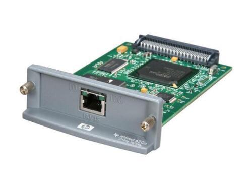 HP JetDirect 620n Ethernet Print Server Card J7934g 10/100tx RJ-45 - Refurbished