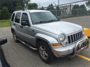 Jeep Liberty 2006 $1495 carte de credit accepte 514-793-0833