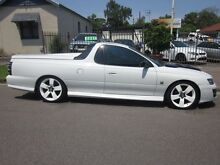 2005 Holden Commodore VZ White 4 Speed Automatic Utility Tighes Hill Newcastle Area Preview