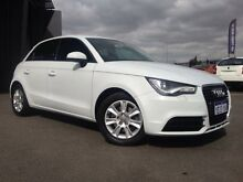 2013 Audi A1 8X MY13 1.4 TFSI Attraction White 7 Speed Automatic Hatchback Beckenham Gosnells Area Preview
