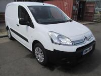 Citroen Berlingo 1.6 Hdi 625Kg Enterprise 75Ps DIESEL MANUAL WHITE (2014)