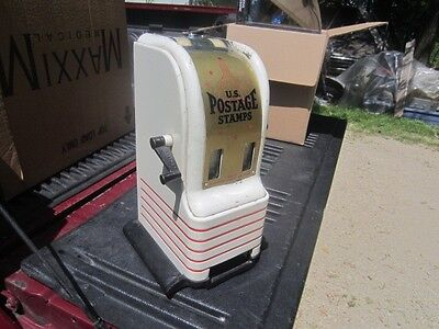 VINTAGE NORTHWESTERN US POSTAGE STAMP VENDING MACHINE COIN OPERATED