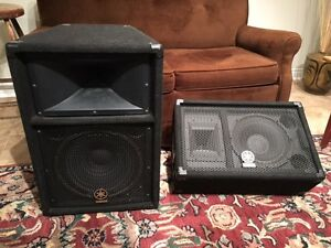 Behringer Amp and Yamaha Speakers for Sale