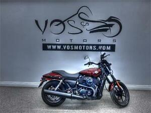 2015 Harley Davidson XG500 - V3503NP - No Payments For 1 Year**