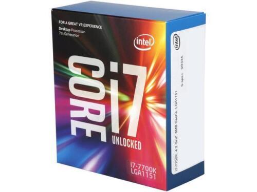 Intel Core i7-7700K Kaby Lake Quad-Core 4.2 GHz LGA 1151 91W BX80677I77700K -- $299.99 + FS at eBay online deal
