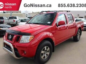 2010 Nissan Frontier PRO-4X 4x4 Crew Cab LEATHER, SUNROOF, HEATE
