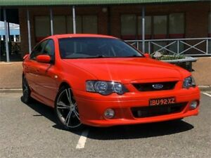 2003 Ford Falcon BA XR6 Turbo Orange Sports Automatic Sedan