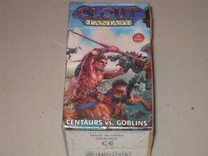 Clout Fantasy - Starter Set - Centaurs vs Goblins NEUF