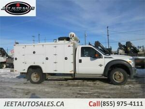 2011 Ford Super Duty F-550 DRW XLT Service Truck