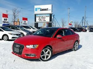 2016 Audi A3 2.0T Komfort ONLY $19 DOWN $104/WKLY!!