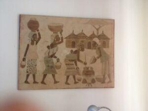 African batik wall art Caversham Swan Area Preview