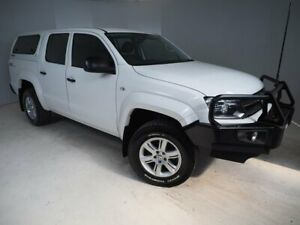 2016 Volkswagen Amarok 2H MY17 TDI400 4MOT Core White 6 Speed Manual Utility Mount Gambier Grant Area Preview