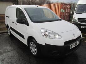 Peugeot Partner L2 750 S 1.6 Hdi 92PS Van DIESEL MANUAL WHITE (2013)