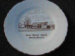 Grace united church plate 22 K gold