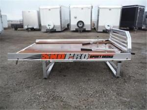 **ALUMINUM SPORT DECK BY SNO PRO** ONLY $2,499 - ALL IN PRICE !!