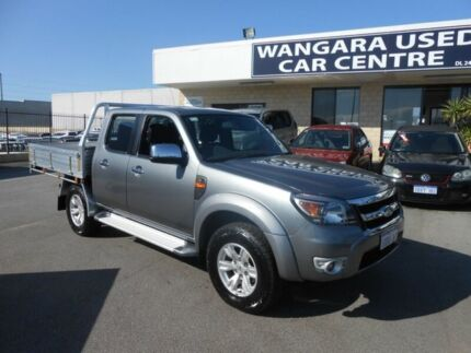 2011 Ford Ranger PK XL (4x4) Grey 5 Speed Automatic Dual Cab Chassis Wangara Wanneroo Area Preview