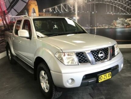 2009 Nissan Navara D40 ST Silver Manual Utility Prospect Blacktown Area Preview