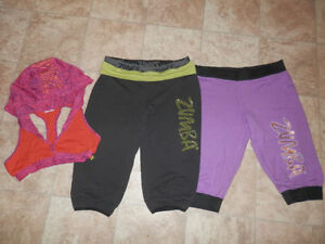 Lot of ZUMBA clothing (8 items)