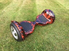 "Airboard Hoverboard Rough Terrain Version 8"" Wheels"