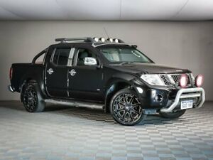 2011 Nissan Navara D40 MY11 ST-X 550 Black 7 Speed Sports Automatic Utility Maddington Gosnells Area Preview