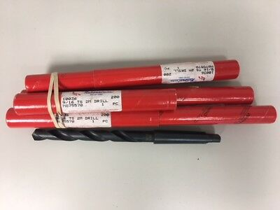 National 916 Taper Length Drill Lot Of 4 010036aw