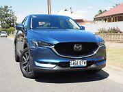 2017 Mazda CX-5 KF4WLA Akera SKYACTIV-Drive i-ACTIV AWD Eternal Blue 6 Speed Sports Automatic Wagon West Hindmarsh Charles Sturt Area Preview