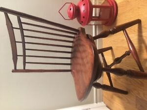 Nice & Different SOLID WOOD SWIVEL CHAIR