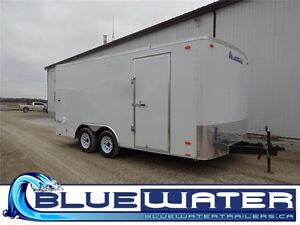 2017 Pace Outback Carhauler 8.5 x 16!! BARN DOORS - IN STOCK!!
