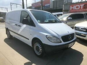 2008 Mercedes-Benz Vito 639 MY08 111CDI Low Roof Comp White 5 Speed Automatic Van Granville Parramatta Area Preview