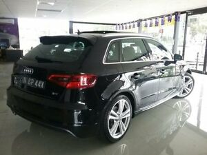 2013 Audi A3 8V Sportback 1.8 TFSI Ambition Black 7 Speed Automatic Hatchback Greenacre Bankstown Area Preview