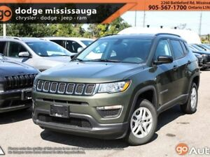 2018 Jeep Compass SPORT PLUS/COLD WEATHER GROUP/BACK UP CAM