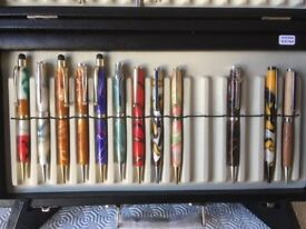 Hand Crafted Pens.