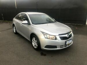 2010 Holden Cruze JG CD Silver 6 Speed Sports Automatic Sedan Invermay Launceston Area Preview