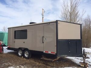 2015 24 ft office trailer