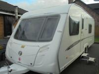 2008 Swift Charisma 620 4 Berth Caravan For Sale.Fixed Bed.End Washroom.