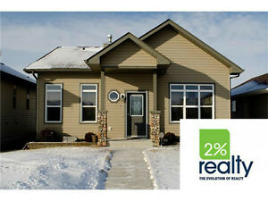 SYLVAN LAKE*4 Bdr/3 Btah BUNGALOW W/ WALKOUT *24 x 24 GARAGE