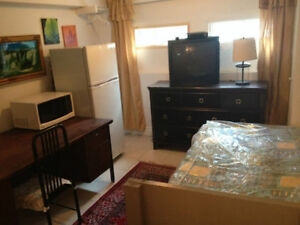 Furnished Room $350.00 All Included in a family Duplex in NDG