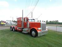 2012 PETERBILT 389 FULLY LOADED FLAT TOP, FACTORY WARRANTY