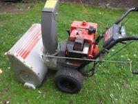 "Craftsman 8 hp. snow blower 25"" path"