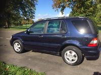Mercedes Ml270 cdi diesel 4x4 7 seater