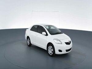 2015 Toyota Yaris NCP93R 10 Upgrade YRS White 4 Speed Automatic Sedan Virginia Brisbane North East Preview