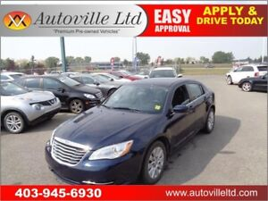 2014 CHRYSLER 200 AUTO LOW KM ONLY $10988