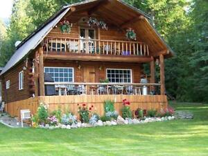 Private & Serene Log & Timber Home On East Barriere Lk. Freehold