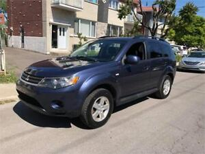 2009 MITSUBISHI OUTLANDER- 2x4-  4 CYLINDRES-**  PROPRE-  4700$