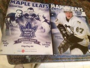 Maple Leafs Programs and Magazines