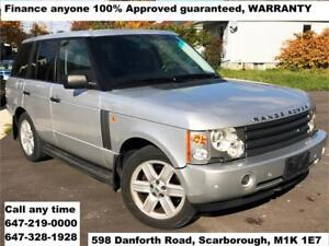 2003 Land Rover Range Rover HSE FINANCE 100% GUARANTEED APPROVED