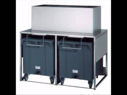 Brema DRB100 Ice Bin - 2 x 108kg ice storage - Catering Equipment Campbellfield Hume Area Preview